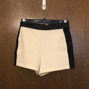 Forever 21 high waisted color block shorts S
